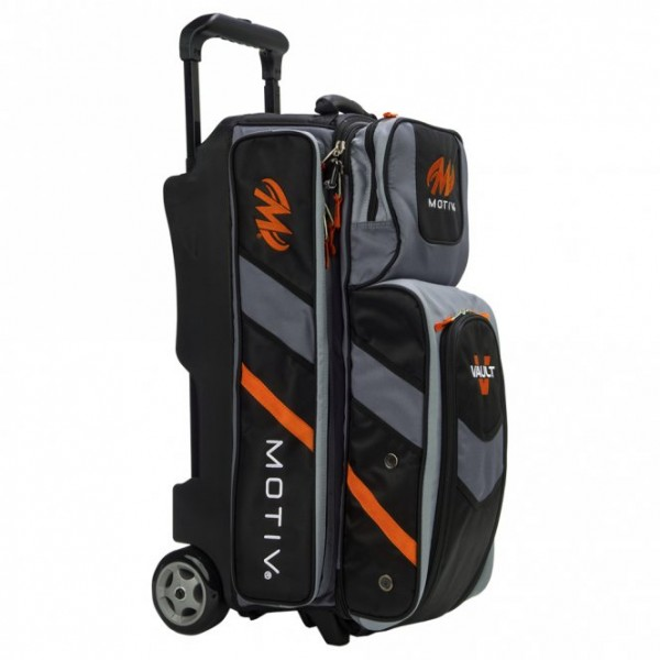 MOTIV · VAULT™ 3-BALL ROLLER (SCHWARZ/ORANGE)