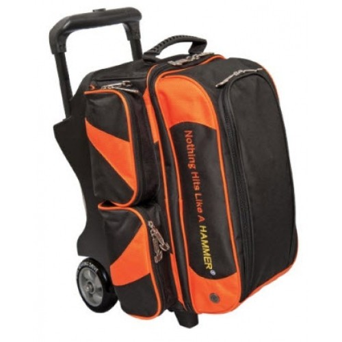 HAMMER PREMIUM DOUBLE ROLLER SCHWARZ/ORANGE