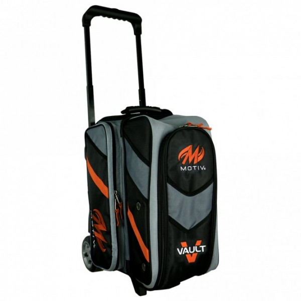 MOTIV · VAULT™ 2-BALL ROLLER (SCHWARZ/ORANGE)