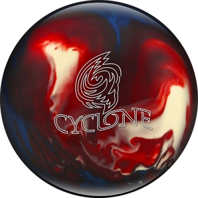 EBONITE · CYCLONE RED/WHITE/BLUE