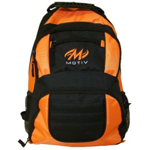 MOTIV ZIPLINE™ BACKPACK SCHWARZ/ORANGE